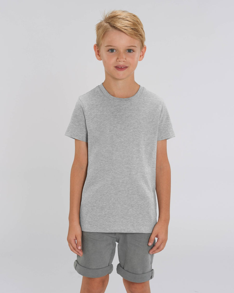 Stanley Stella Mini Creator Kid's T-Shirt Heather Grey