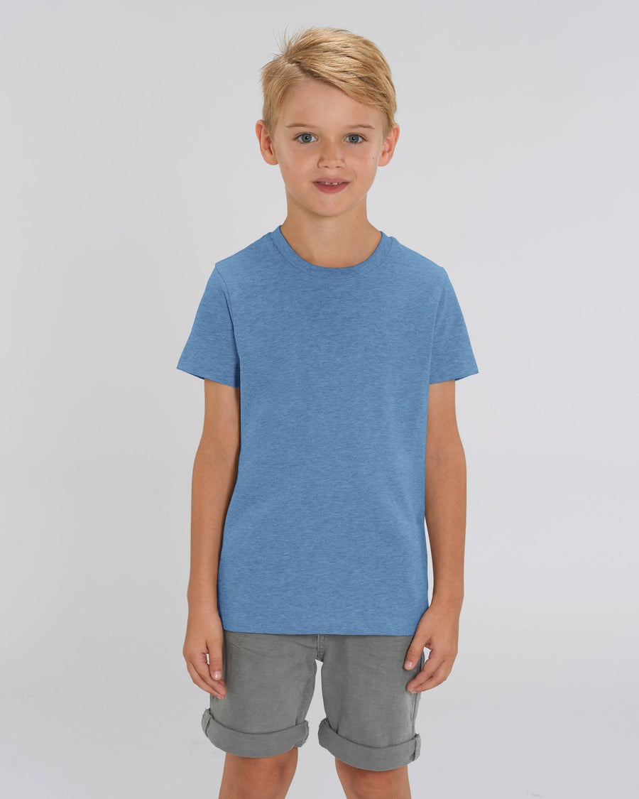 Stanley Stella Mini Creator Kid's T-Shirt Mid Heather Blue