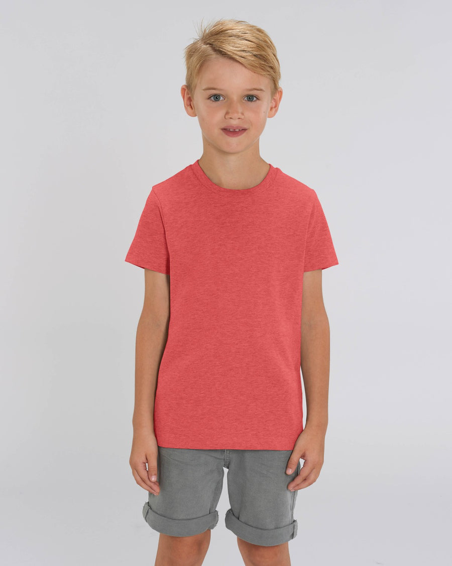 Stanley Stella Mini Creator Kid's T-Shirt Mid Heather Red