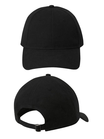 Continental Clothing Organic Cotton 6-Panel Cap