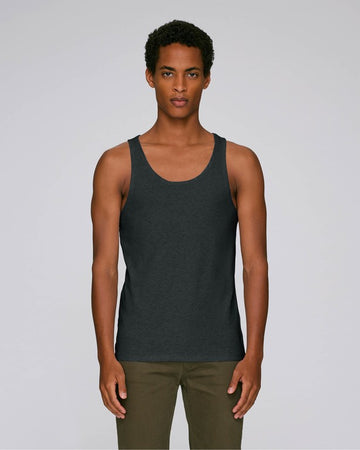 Stanley Stella Runs Men's Tank Top Dark Heather Grey