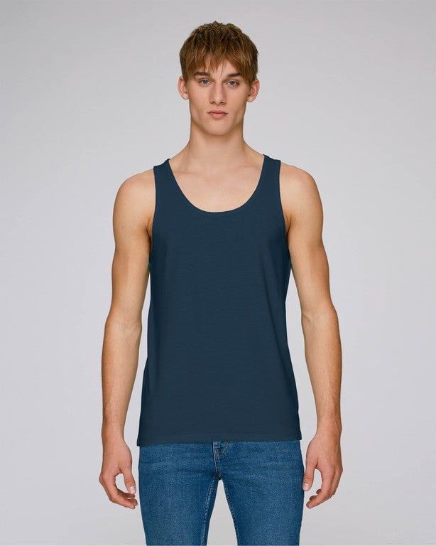 Stanley Stella Runs Men's Tank Top Navy