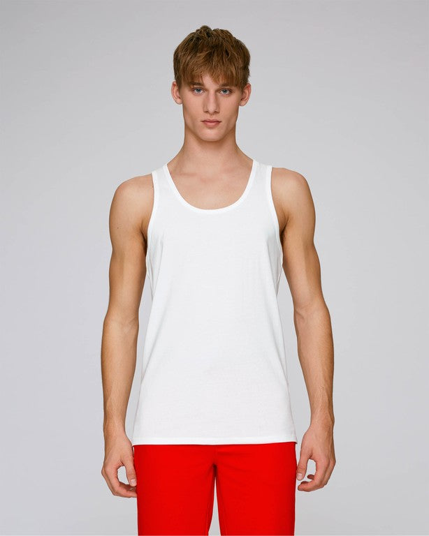 Stanley Stella Runs Men's Tank Top White