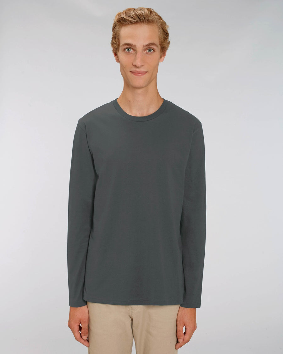 Stanley Stella Shuffler Men's Long Sleeve T-Shirt Antracite