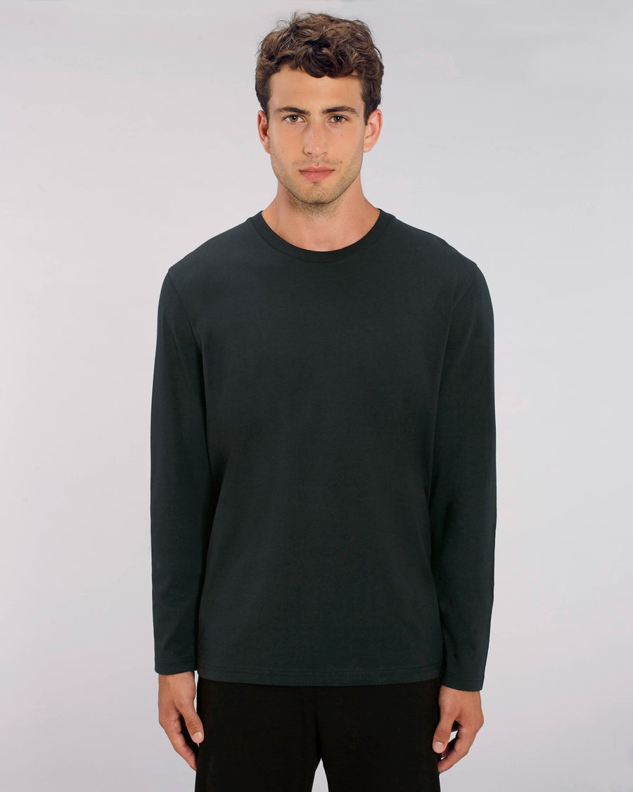 Stanley Stella Shuffler Men's Long Sleeve T-Shirt Black