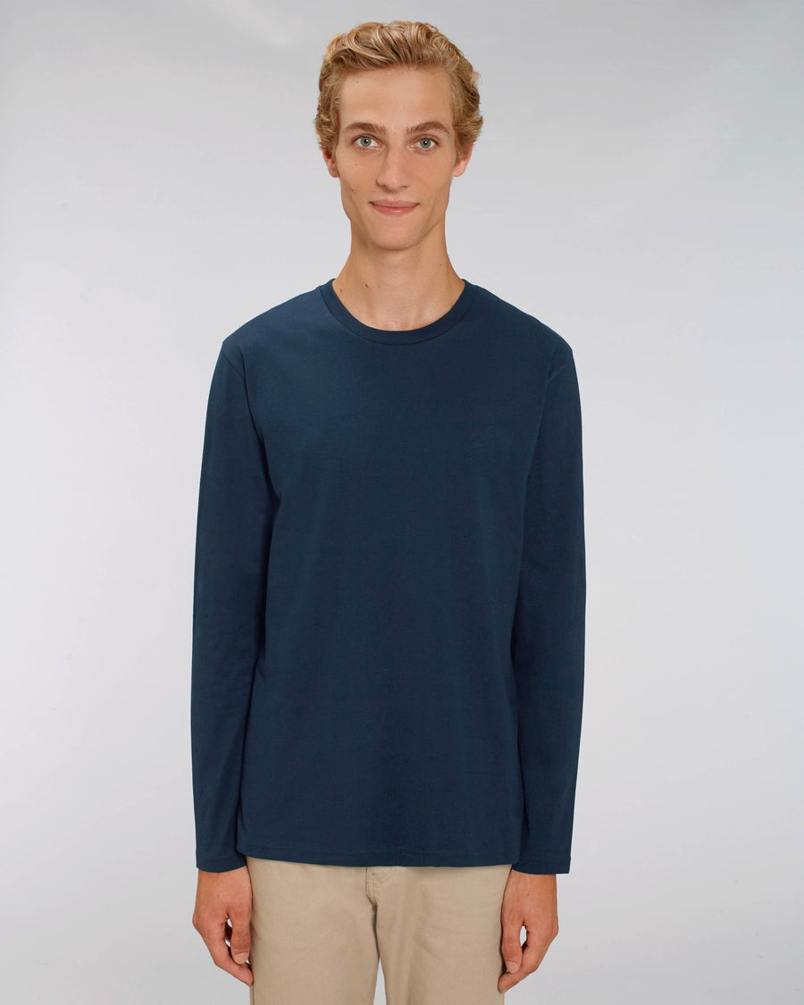 Stanley Stella Shuffler Men's Long Sleeve T-Shirt French Navy