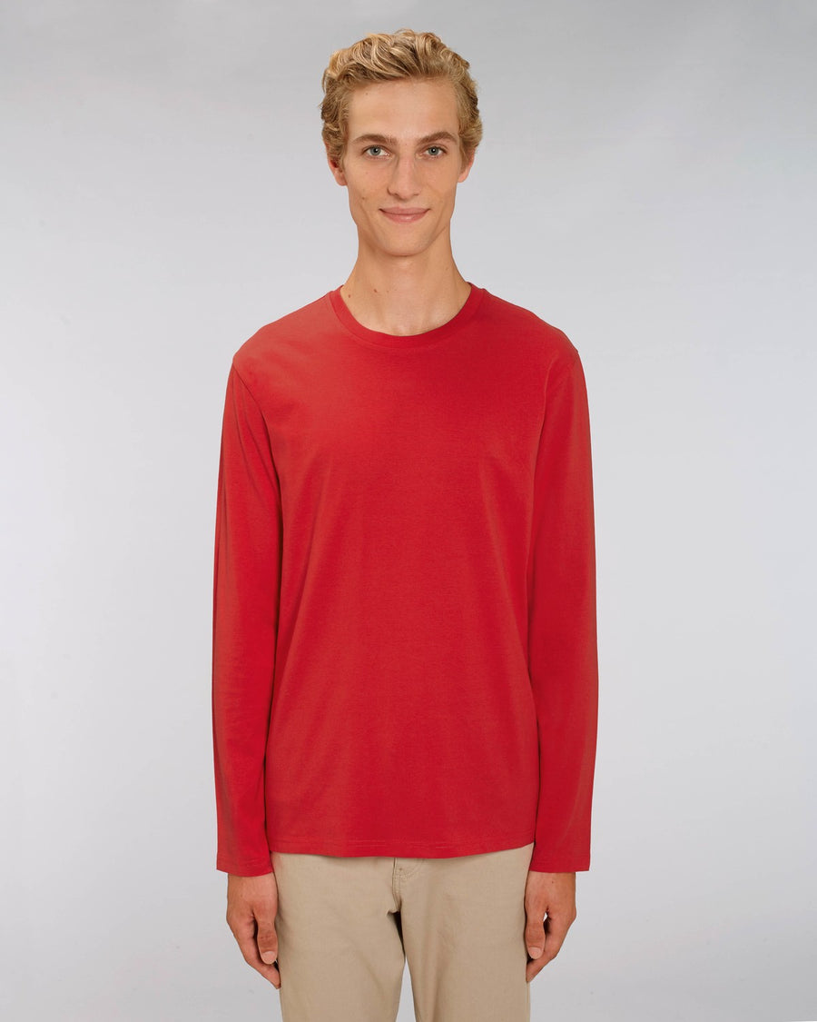 Stanley Stella Shuffler Men's Long Sleeve T-Shirt Red