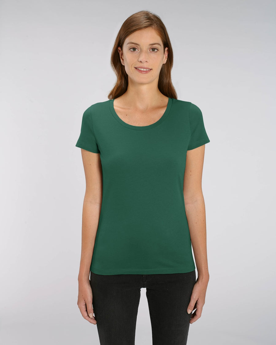 Stanley Stella Lover Women's T-Shirt Bottle Green