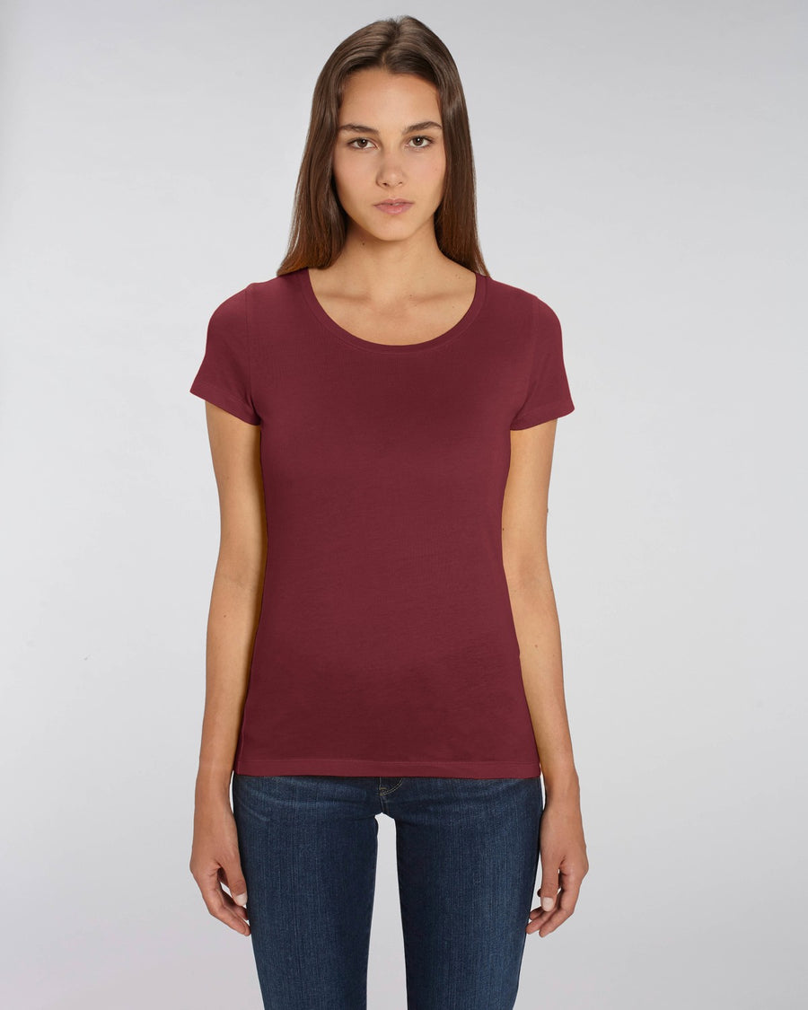 Stanley Stella Lover Women's T-Shirt Burgundy