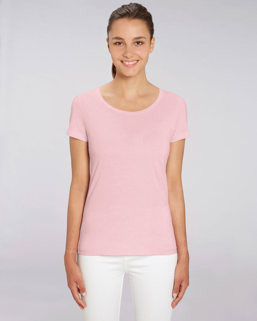 Stanley Stella Lover Women's T-Shirt Cotton Pink