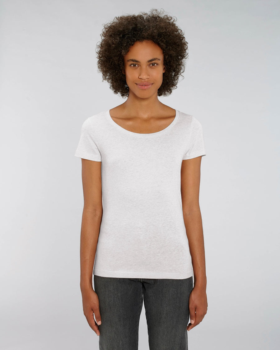 Stanley Stella Lover Women's T-Shirt Cream Heather Grey