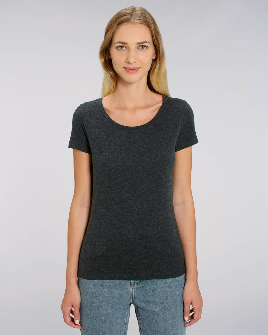 Stanley Stella Lover Women's T-Shirt Black Heather Denim