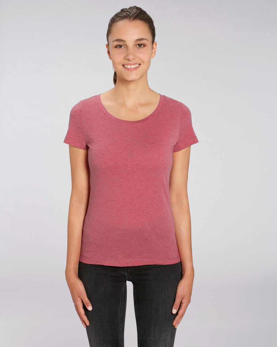 Stanley Stella Lover Women's T-Shirt Heather Cranberry