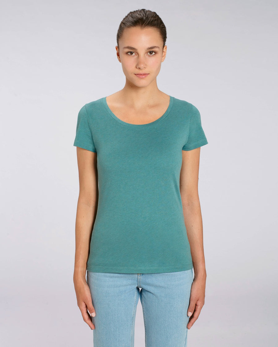 Stanley Stella Lover Women's T-Shirt Heather Eucalyptus
