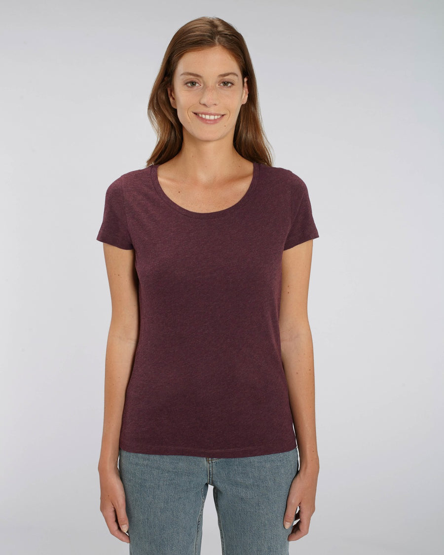 Stanley Stella Lover Women's T-Shirt Heather Grape Red