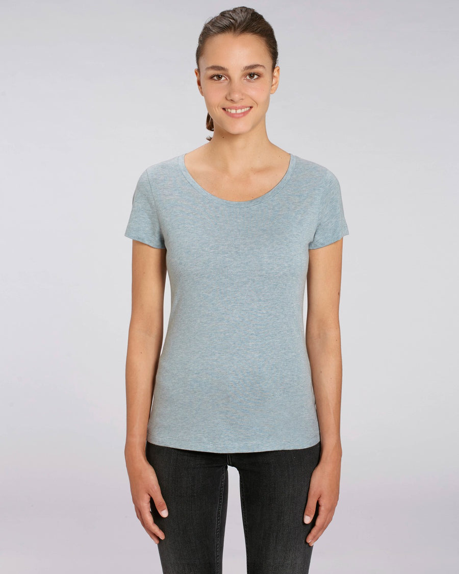 Stanley Stella Lover Women's T-Shirt Heather Ice Blue
