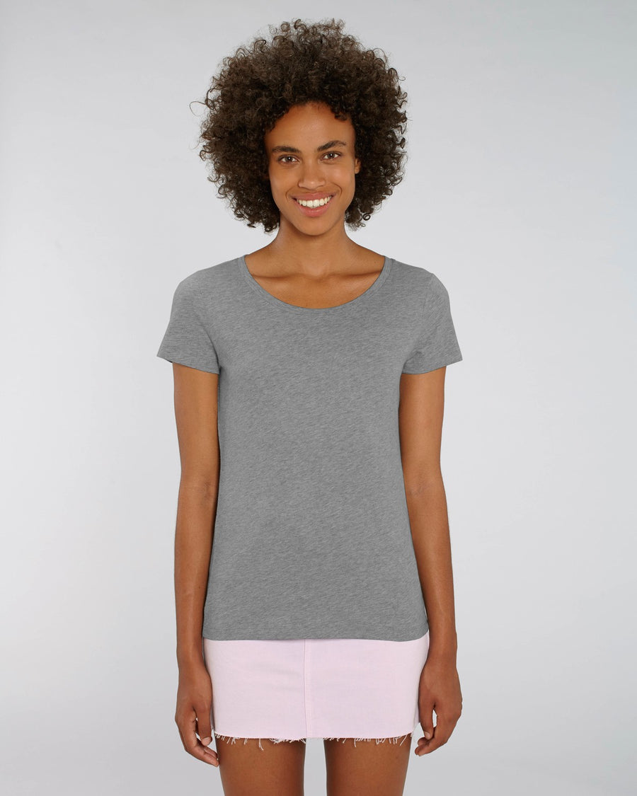 Stanley Stella Lover Women's T-Shirt Mid Heather Grey