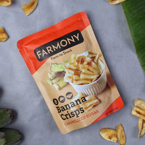 Farmony Sweet Banana Crisps