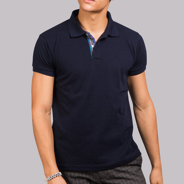 Men's Polo Shirt - Blue Sinaluan