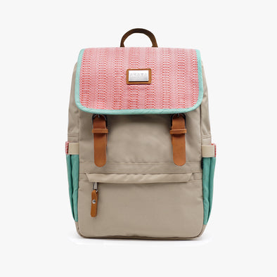 Alumno Dos Backpack - Carmine Pink Inabel
