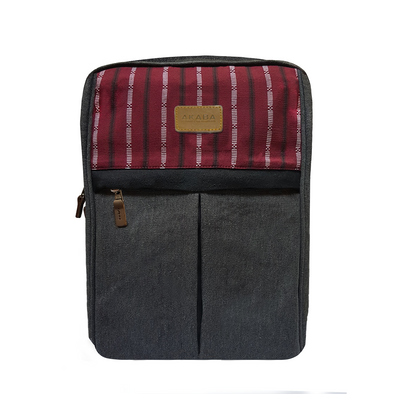 Apuesto Backpack - Maroon Ramit
