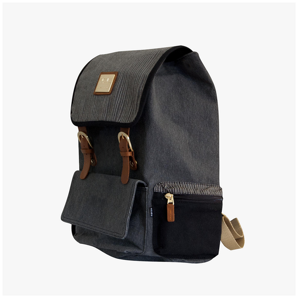 New Alumno Knapsack - Black Ramit