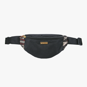 Classic Belt Bag - Black and Red T'nalak