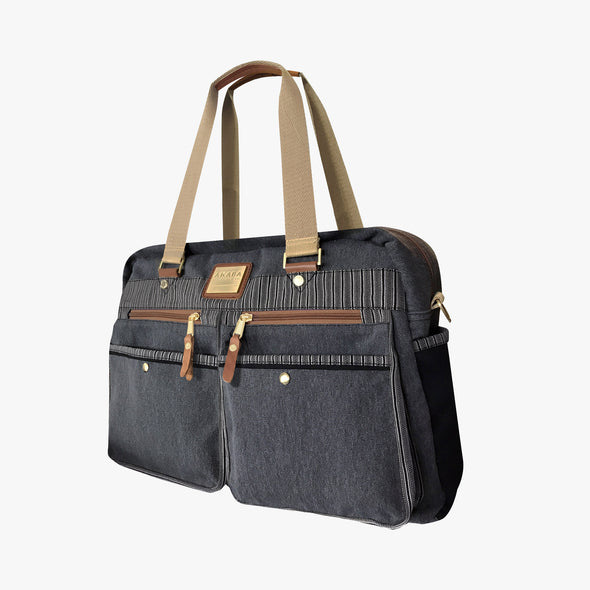 Cargo Boston Bag - Black Ramit