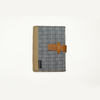 Blue Squared Inabel Passport Holder