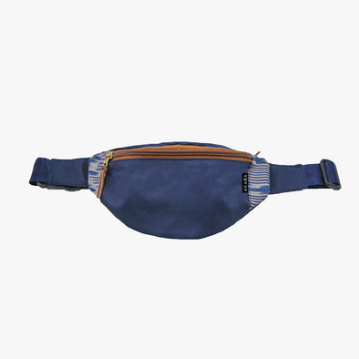 Classic Belt Bag - Blue T'nalak