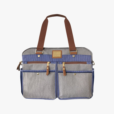 Cargo Boston Bag - Blue Ramit