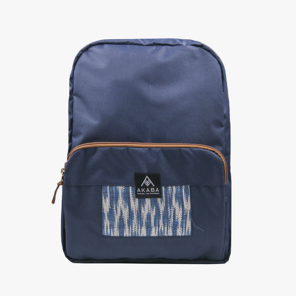 Yael Backpack - Blue Tnalak