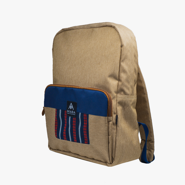 Yael Backpack - Blue and Red Ramit
