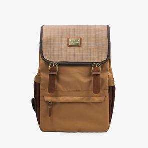 Alumno Dos Backpack - Tan Square Inabel