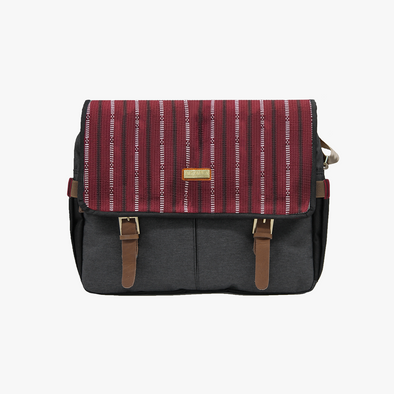 Cierto Messenger Bag - Maroon Ramit