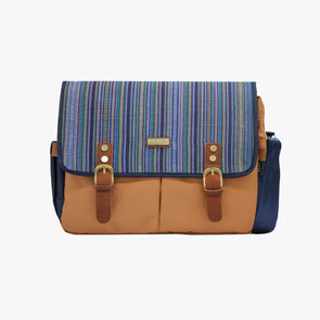 Pre-Order for delivery on July 30 Gallardo Messenger Bag - Blue Sinaluan
