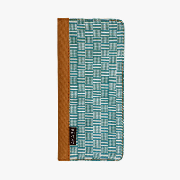 Inabel Women's Wallet - Teal Square Inabel