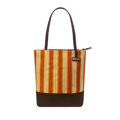 Isabela Tote Bag -Persian Orange
