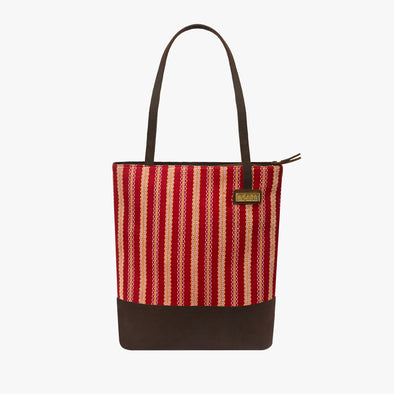 Isabela Tote Bag - Venetian Red