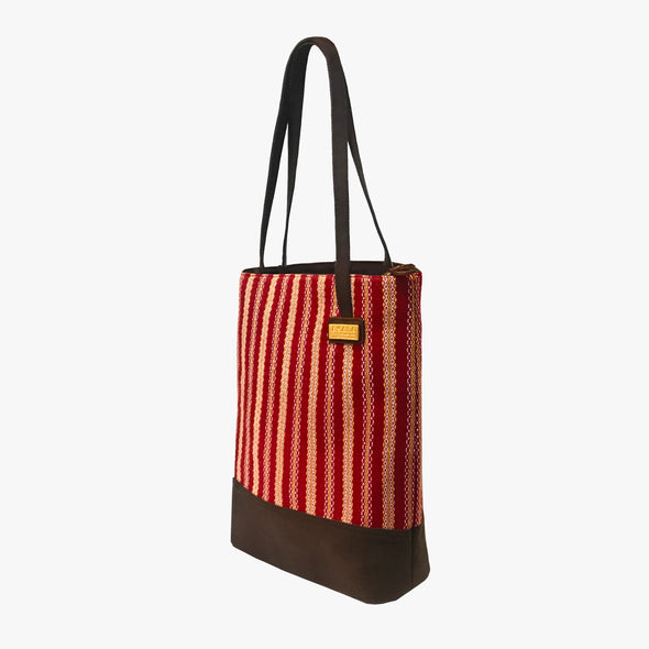 Isabela Tote Bag -Venetian Red
