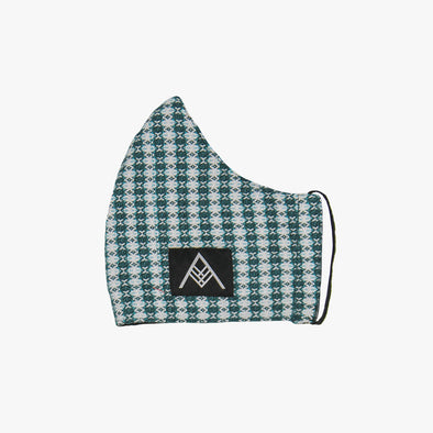 Handwoven Facemask - Houndstooth Inabel