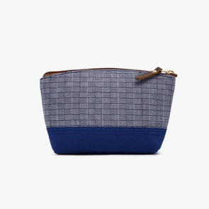 Makeup Pouch - Navy Blue Inabel