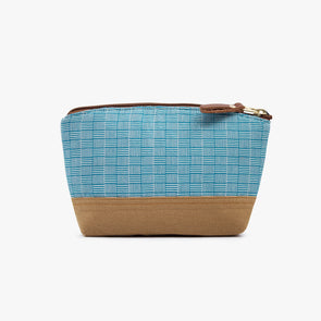 Makeup Pouch - Teal Square Inabel