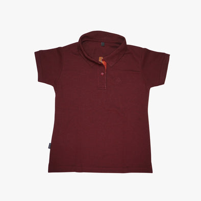 Women's Polo Shirt - Red Sinaluan