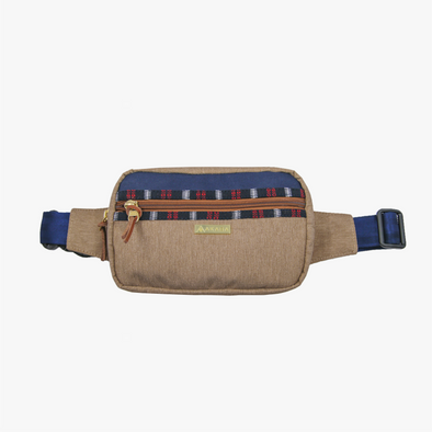 Belt Bag - Blue and Red Ramit