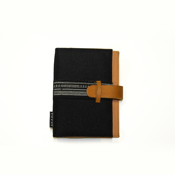 Monochrome Black - Passport Holder