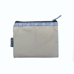 Coin Purse - Navy Blue Square