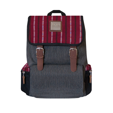 PRE-ORDER for delivery on June 15 New Alumno Knapsack - Maroon Ramit