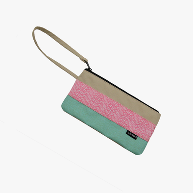 Travel Pouch - Carmine Pink Inabel