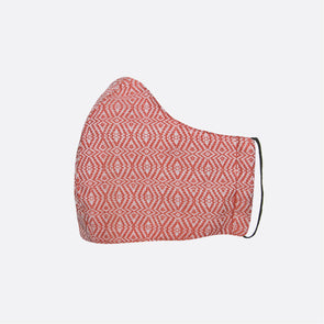 Handwoven Facemask - Pink Inabel